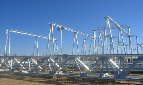 Substation truss