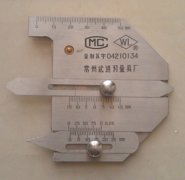 Welding inspecting ruler